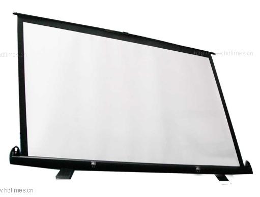 信鸽100英寸 支架投影幕布4:3玻珠幕