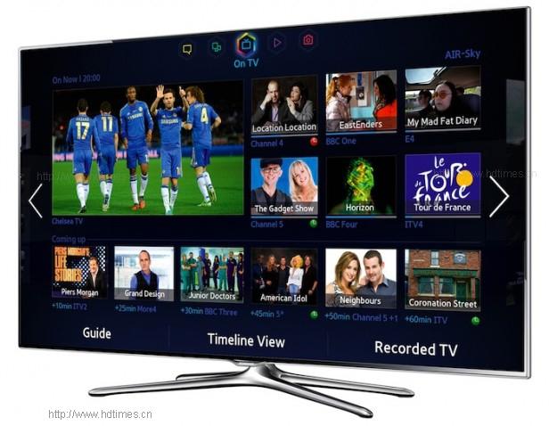 中阶智能电视新军 - 三星UE55F6500智能电视评测(1)