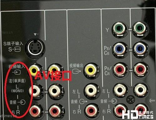 高清网络机顶盒怎么用AV接口连接老式电视