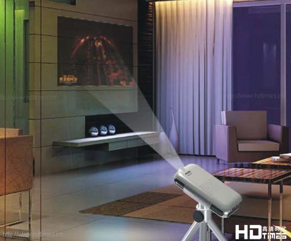LED光源应用-微型高清投影仪