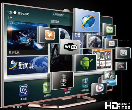 海尔ld50h9000智能高清电视机