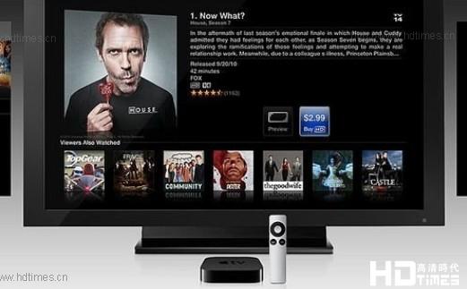 苹果将与时代华纳展开内容合作 推出Apple TV