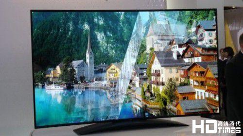 LG 曲面4K OLED电视