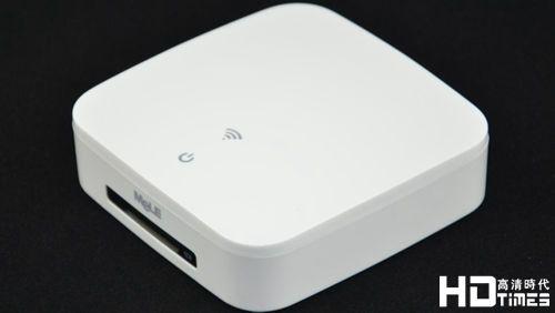 简洁亮白 迈乐A200双核高清机顶盒外观评测