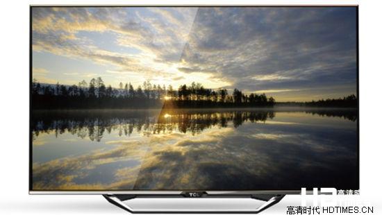 TCL L55V7600A-3D全高清电视机-高清画质
