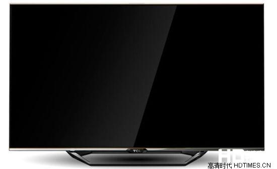 TCL L55V7600A-3D全高清电视机-正面外观