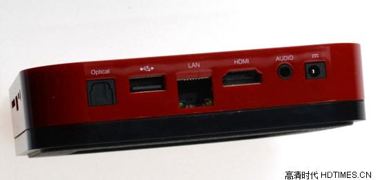迈乐X8高清网络机顶盒-背面接口