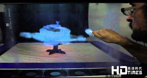 3D触控荧幕 雾气来作怪