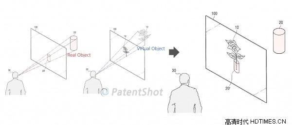 三星又一前瞻性专利 商业虚拟橱窗方案