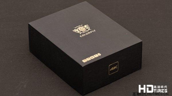 七彩虹盒子-全黑色包装