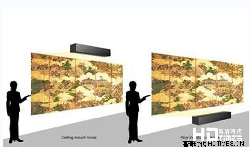 索尼首推商用超短焦激光4K投影机 激发行业创新