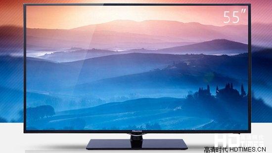 海信LED55EC280JD 55英寸电视 满千赠券