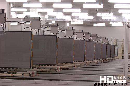 4K超高清面板生产线