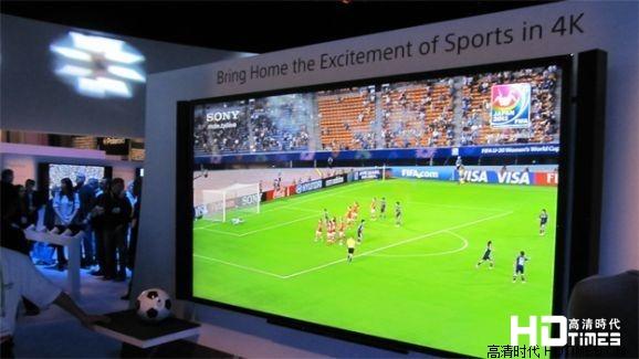 看世界杯与4k电视产生了何种化学反应