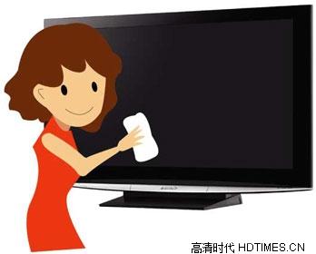 清洁液晶电视需要注意的七点