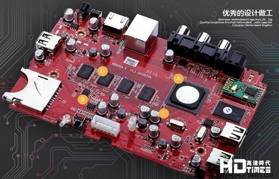 海美迪HD600AII高清网络机顶盒-做工