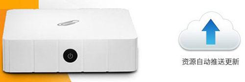 别致云盒S1高清机顶盒-资源推送