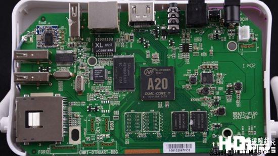 经典双核四显? 忆典S1高清机顶盒硬件测评