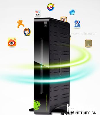 网络机顶盒-开博尔 ko 双立式设计