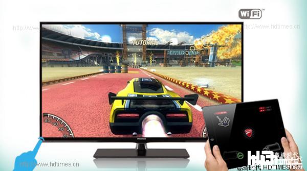 液晶电视-海信 LED55EC380X3D 多屏互动
