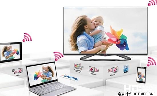 LG 47LA6600-CA全高清电视-多屏分享