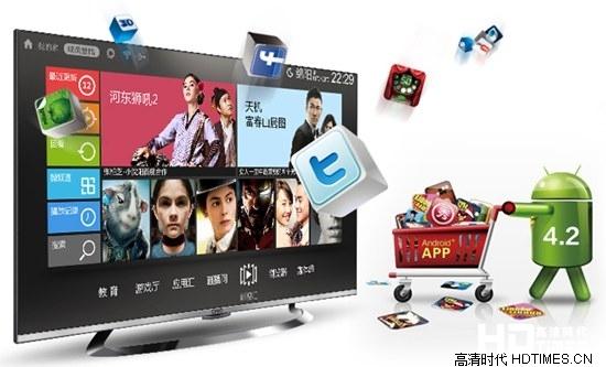长虹55Q1R 55英寸 4K电视机-安卓4.2系统
