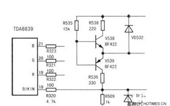 ad板上控制高压板开关部分电路有故障