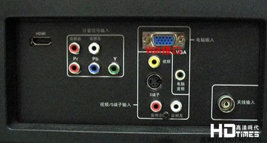 笔记本通过vga端口连接液晶电视设置教程