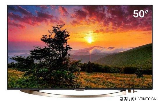 高颜值高配置!夏普50寸4K液晶电视推荐