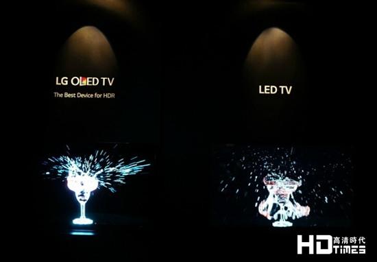 2015 IFA :LG展出HDR技术4K OLED电视