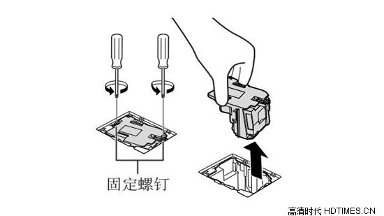 夏普投影机换灯泡的具体操作方法【多图】