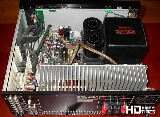 雅马哈功放机无声音的检修过程和处理办法