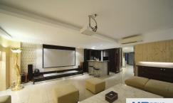 新中式风格家庭影院设计欣赏图