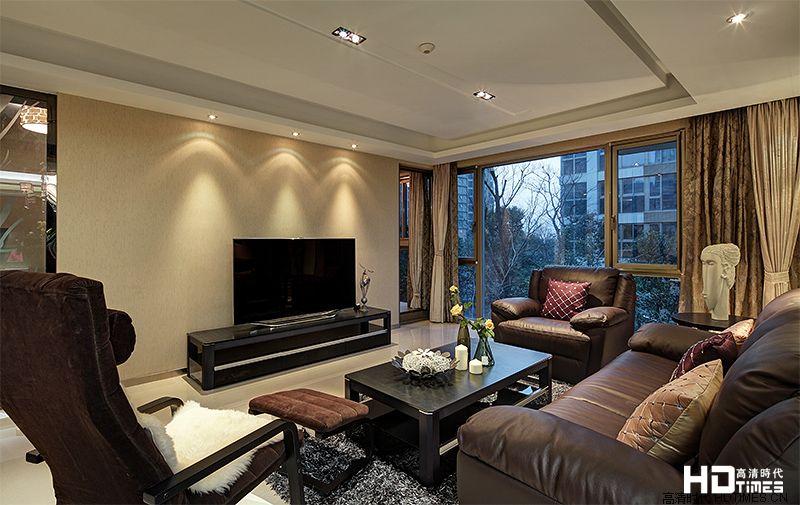 客厅家庭影院装修设计效果图