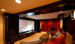 四款豪华家庭影院装修效果图