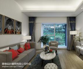 客厅家庭影院装修设计效果图3例