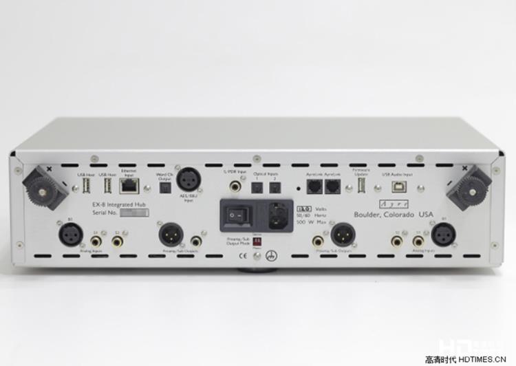 新世代全能综扩-试听Ayre EX-8综合扩大机