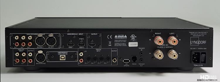 主动融入空间-Lyngdorf TDAI-2170综合功放机