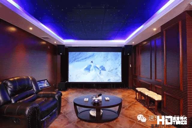 【微影院】中天花园顶级私人影院装修设计