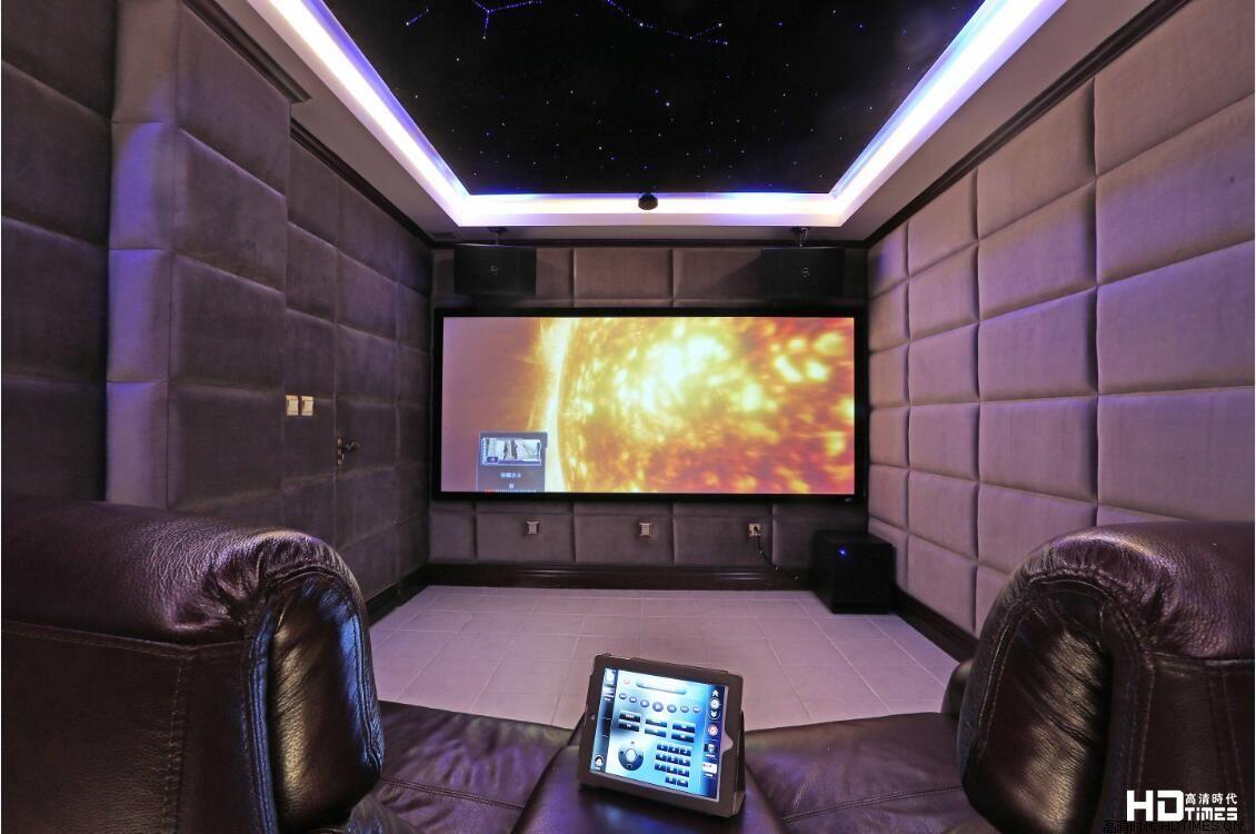 【案例】打造梦幻星空吊顶,7.1家庭影院装修方案