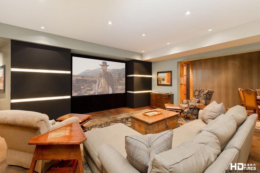 家庭影院定制效果图 客厅13例