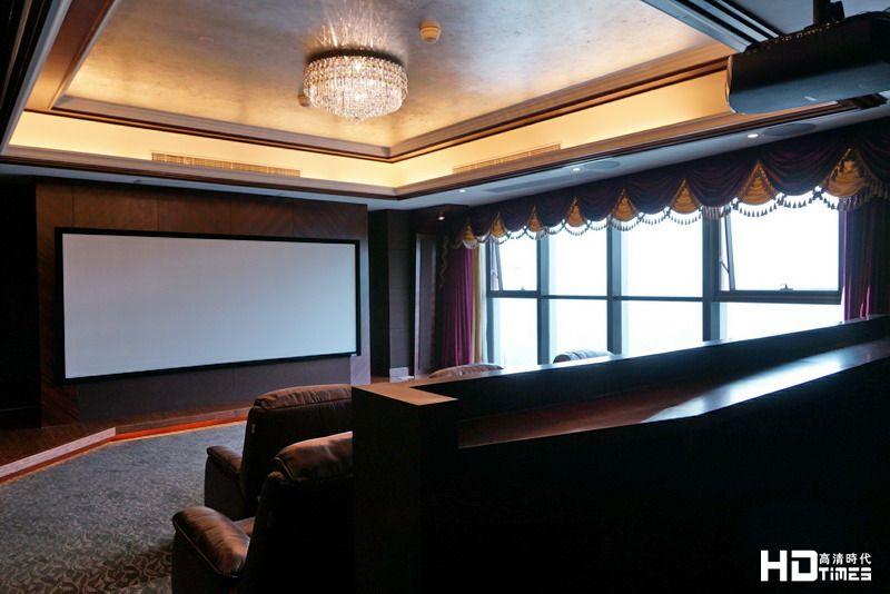 11.2声道+超宽幕4K&3D,低调简单的百万私家影院