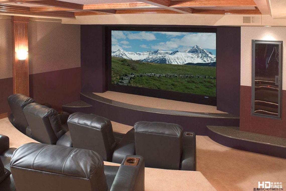 别墅电影室装修图欣赏 7例
