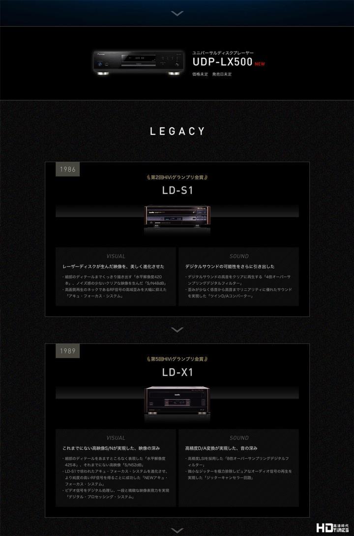 发烧级 UHD Blu-ray 宇宙盘后继有机 Pioneer 快将推出 UDP-LX500