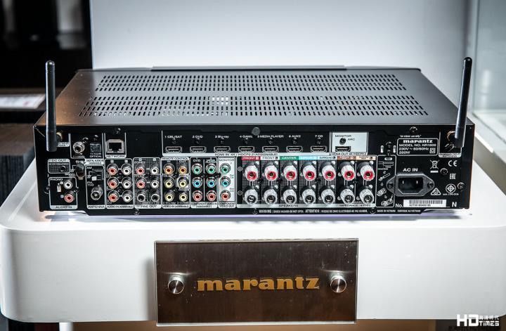 【评测】Marantz NR1609:薄身不薄声 蜗居享受 5.2.2 环绕声效