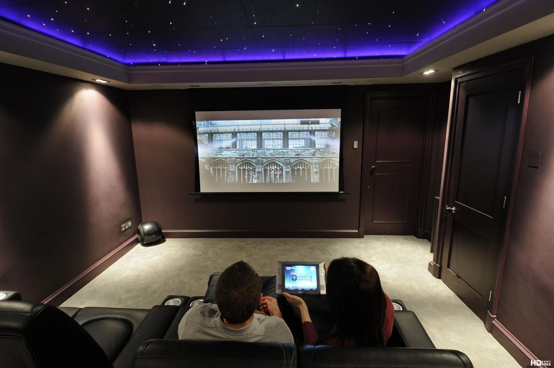 20平方米家庭影院装修效果图 3