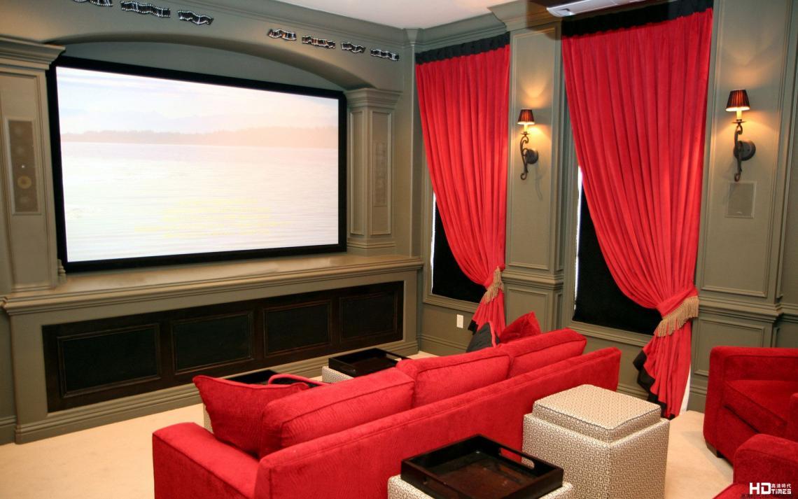 20平方米家庭影院装修效果图 8