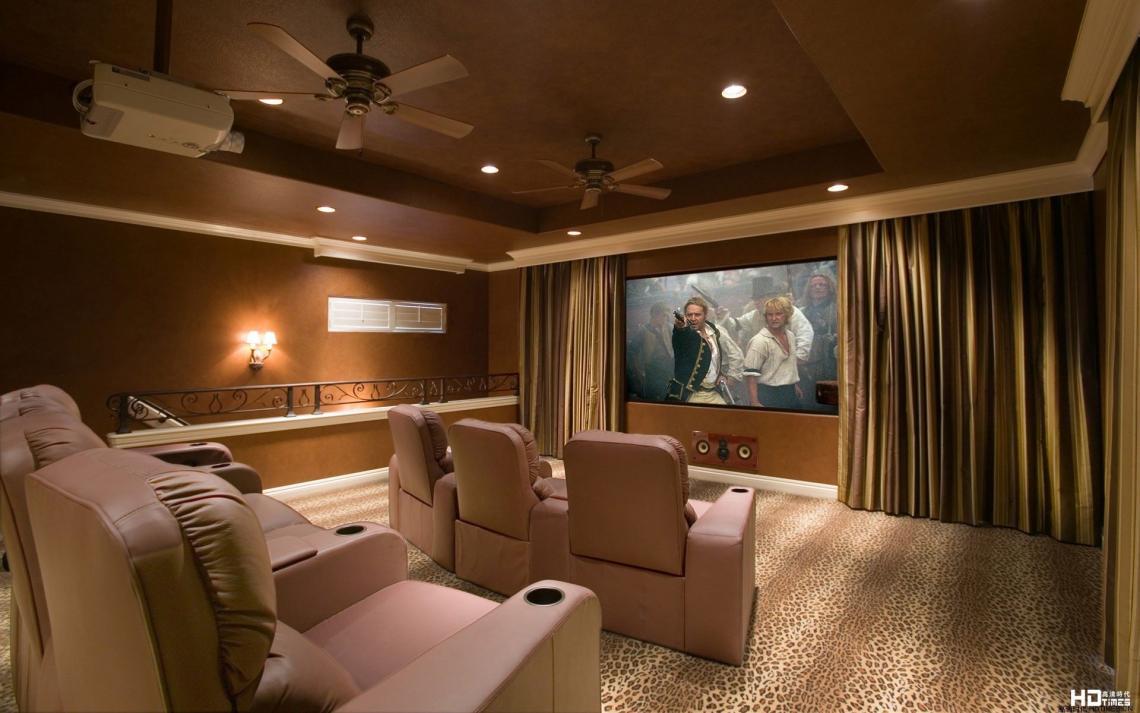 20平方米家庭影院装修效果图 7