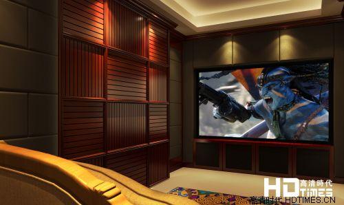 13万 26平米 经典配置金茂悦影音室案例