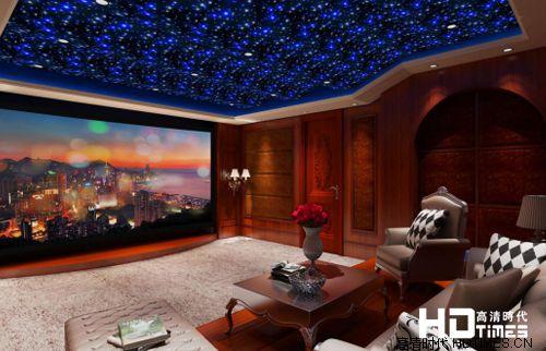 30万34平米3D电影KTV通吃 影音室一例